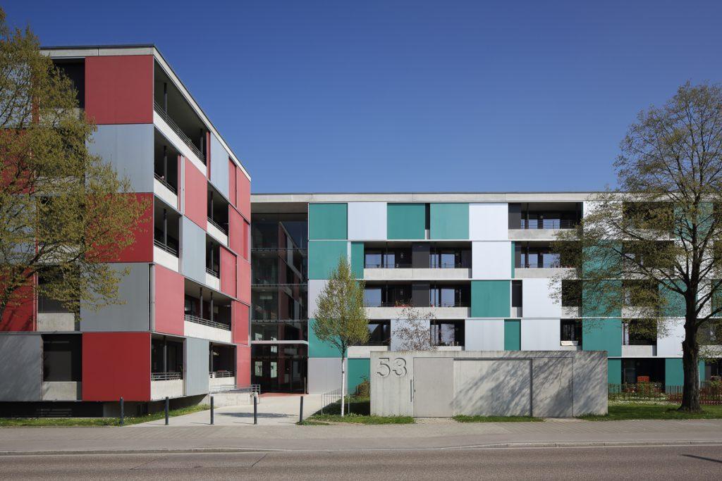 Beyer und Dier Architekten, altengerechte Wohnbau Ingolstadt